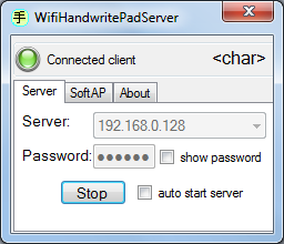 Wifi Handwrite Pad PC Server